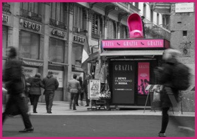 Grazia Progetto Milano Fashion Week - Space and Event