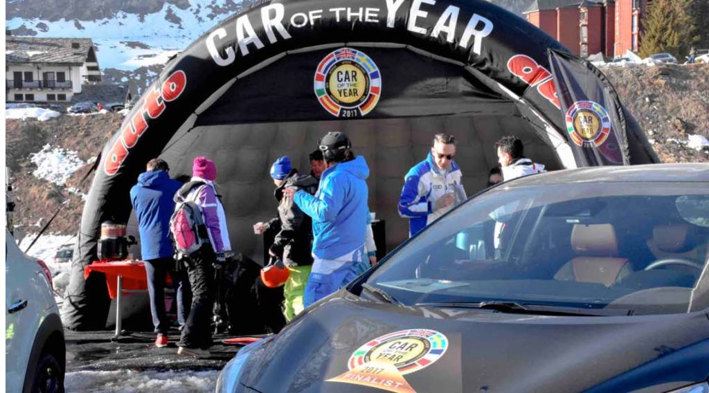 Car of the year Cervinia - Space&Event
